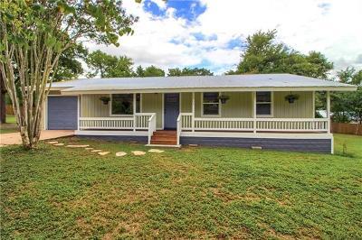 Bastrop Single Family Home Pending - Taking Backups: 305 Flint Ridge