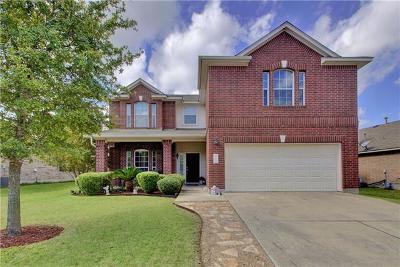 Pflugerville Single Family Home For Sale: 20712 Bellerive Dr