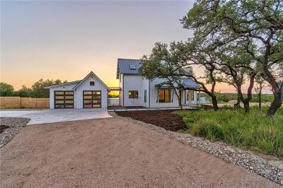 Dripping Springs TX Single Family Home For Sale: $815,000