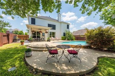 Pflugerville Single Family Home For Sale: 20816 Silverbell Ln