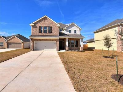 Hutto Single Family Home For Sale: 1004 Lauren Way