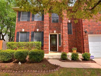 Round Rock Single Family Home Active Contingent: 4217 N Summercrest Loop
