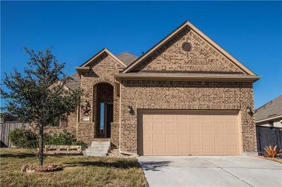 Leander Single Family Home For Sale: 2145 Granite Hill Dr