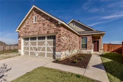 Hutto Single Family Home For Sale: 1012 Danish Cv
