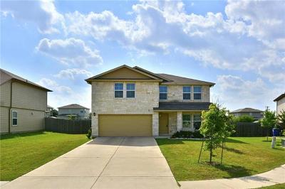 Hutto Single Family Home For Sale: 120 Nueces River Trl