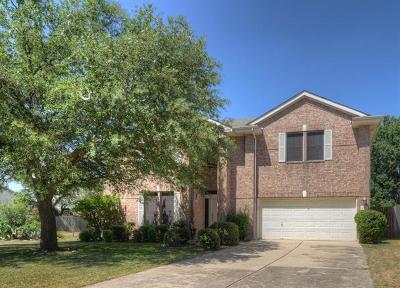 Cedar Park Single Family Home Pending - Taking Backups: 2126 Simbrah Dr