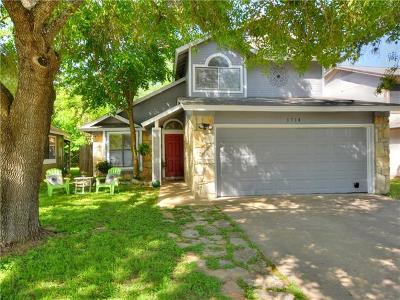 Round Rock Single Family Home For Sale: 1714 Tamra Ct
