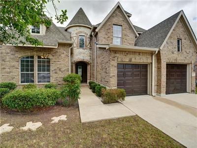 Round Rock Single Family Home For Sale: 3902 Harvey Penick Dr