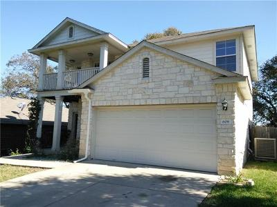 Round Rock Single Family Home For Sale: 609 Fort Thomas Pl