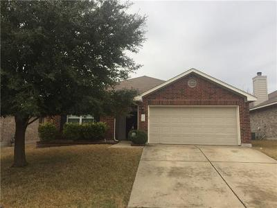 Pflugerville Single Family Home For Sale: 2709 Kickapoo Cavern Dr