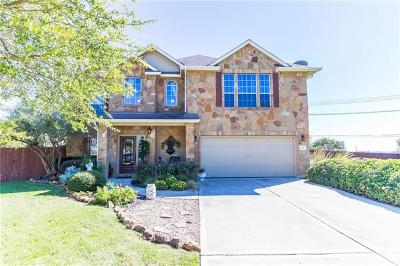 Liberty Hill Single Family Home For Sale: 309 Quarry Rock Cv