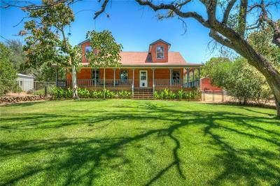 Burnet Single Family Home Active Contingent: 12521 Ranch Road 2341