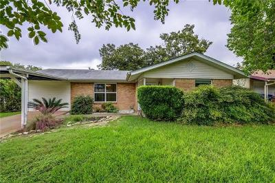 Austin Single Family Home For Sale: 8801 Redfield Ln