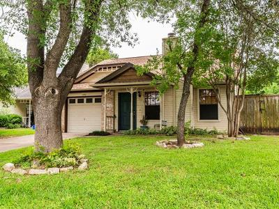 Round Rock Single Family Home For Sale: 1103 Fairlawn Cv
