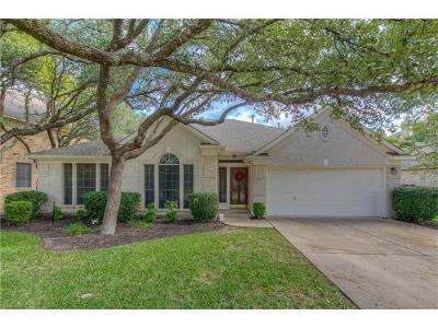 Cedar Park Single Family Home For Sale: 1218 Fall Creek Loop