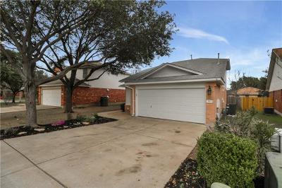 Leander Single Family Home Pending - Taking Backups: 3116 Port Anne Way