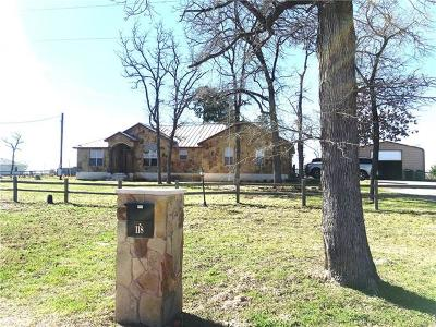 Bastrop Single Family Home For Sale: 118 Cattlemens