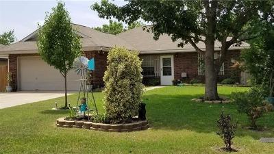 Leander Single Family Home Pending - Taking Backups: 431 Bentwood Dr