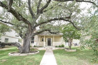 Round Rock Single Family Home For Sale: 816 Gabriel Mills Dr