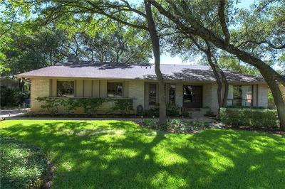 Austin Single Family Home For Sale: 9307 Springwood Dr