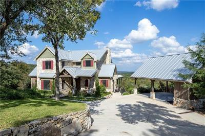 Wimberley Single Family Home For Sale: 1528 Backbone Rdg
