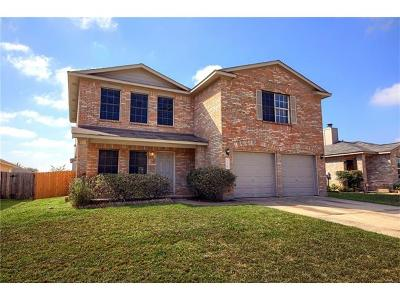 Hutto Single Family Home For Sale: 304 Country Estates Dr