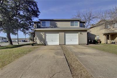 Round Rock Multi Family Home For Sale: 924 Chisholm Cv