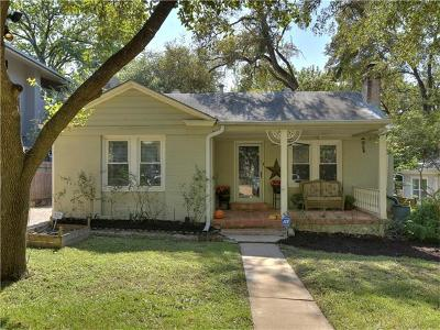 Travis County Single Family Home For Sale: 1707 W 29th St
