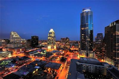 W Austin Hotel And Residences Condo/Townhouse For Sale: 210 Lavaca St #2505