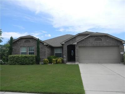 Round Rock Single Family Home For Sale: 110 Paul Azinger Dr