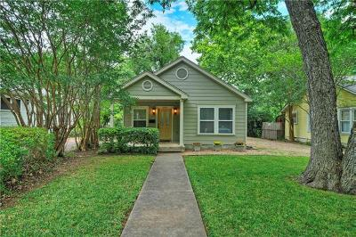 Austin Single Family Home Pending - Taking Backups: 5007 Avenue H