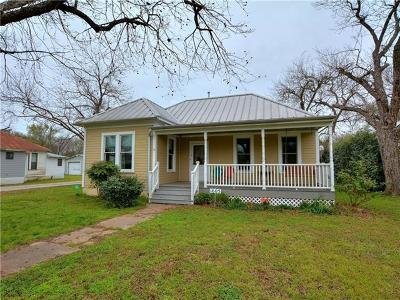 Bastrop Single Family Home Pending - Taking Backups: 1605 Wilson St