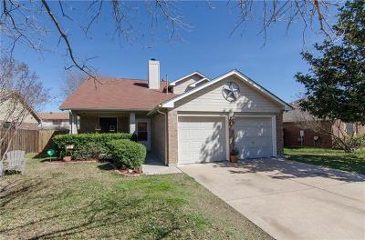 Leander Single Family Home For Sale: 600 Deercreek Ln