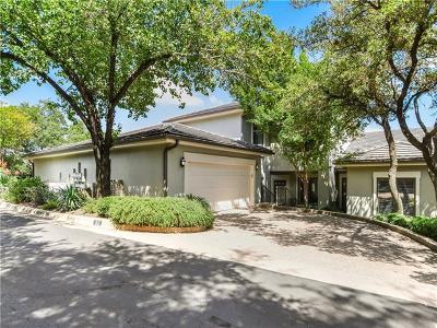 Austin Condo/Townhouse For Sale: 4231 Westlake Dr #D2
