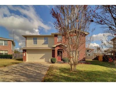 Cedar Park Single Family Home For Sale: 1806 Connors Cv