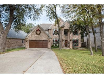 Round Rock Single Family Home For Sale: 3808 Harvey Penick Dr