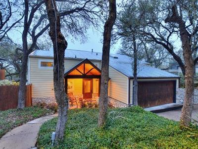 West Lake Hills TX Single Family Home Pending - Taking Backups: $750,000
