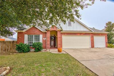 Pflugerville Single Family Home For Sale: 20746 Silverbell Ln