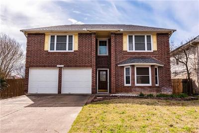 Round Rock Single Family Home Pending - Taking Backups: 17840 Park Valley Dr