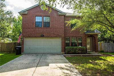 Kyle Single Family Home For Sale: 481 Whispering Hollow Dr