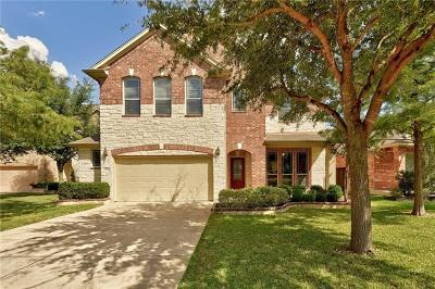 Round Rock Single Family Home For Sale: 1504 Greenside Dr