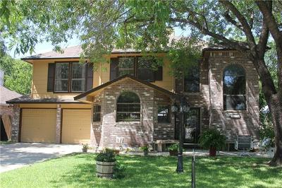 Round Rock Single Family Home For Sale: 2114 Rosemary Ln