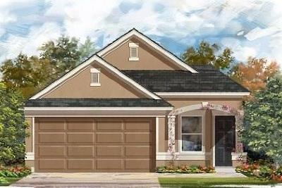 Manor Single Family Home For Sale: 13805 Benjamin Harrison St