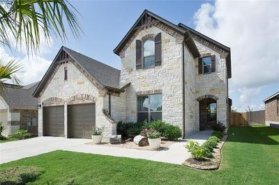 Round Rock Single Family Home For Sale: 5676 Corsica Loop