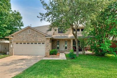 Cedar Park Single Family Home Pending - Taking Backups: 2222 Wheaton Trl