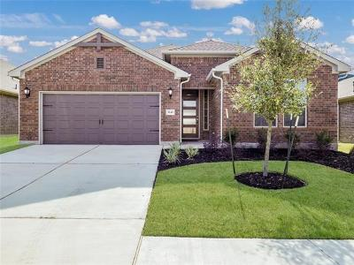 Round Rock Single Family Home For Sale: 3241 Aurelia Ln