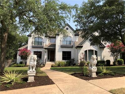 Round Rock Single Family Home For Sale: 4524 Harvey Penick Dr