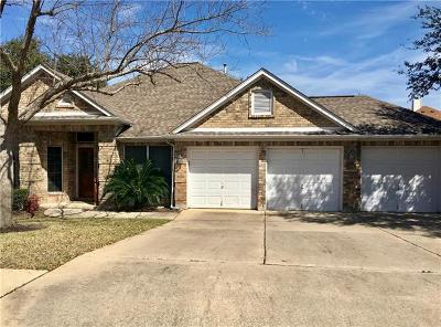 Cedar Park Single Family Home Active Contingent: 1106 Oliver Loving Cv