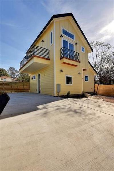 Austin Single Family Home For Sale: 1703 Sanchez St #B