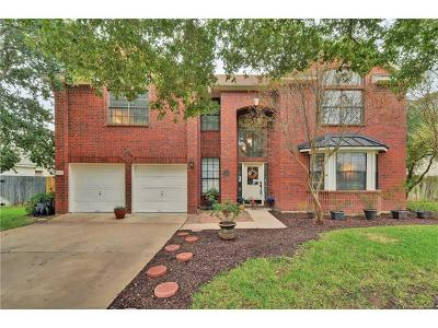 Cedar Park Single Family Home Pending - Taking Backups: 1104 Thistle Trl